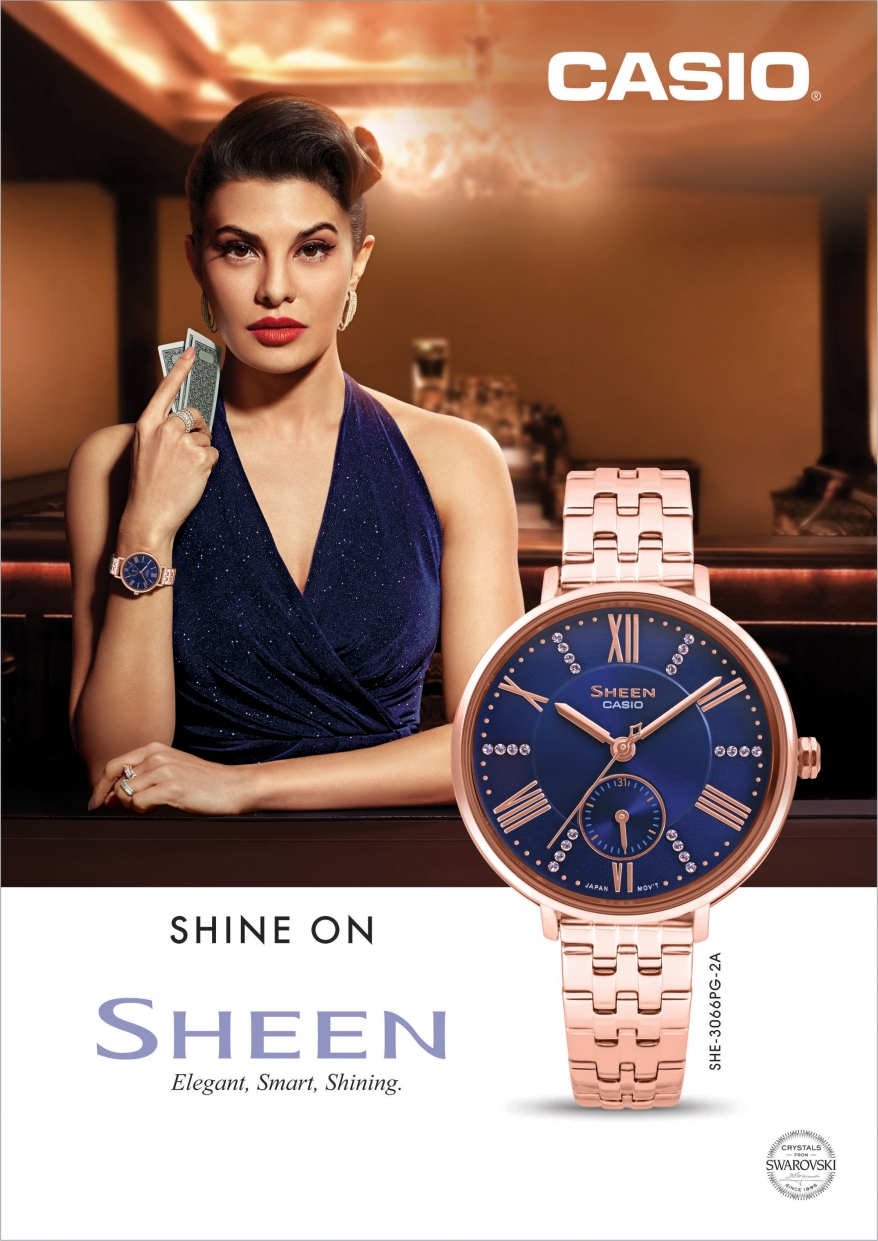 Casio India celebrates The New Alpha Woman with Sheen's #ShineOn campaign_Image 1.jpg