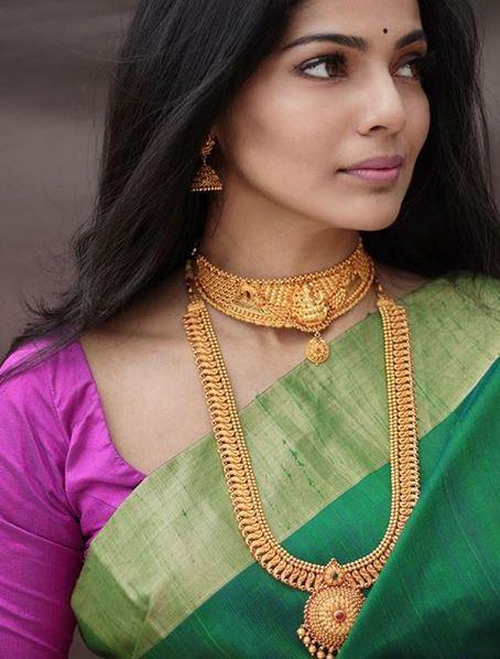 Kalyan Jewellers' brand ambassador Pooja Sawant in Ganesh Chaturthi Campaign Look_01